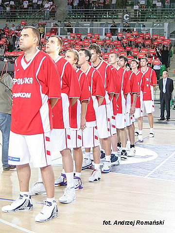 Poland prepare for the EuroBasket qualifier with Sweden